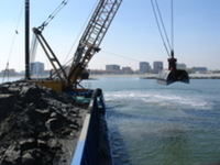Dredging of the seabed of Porto Garibaldi