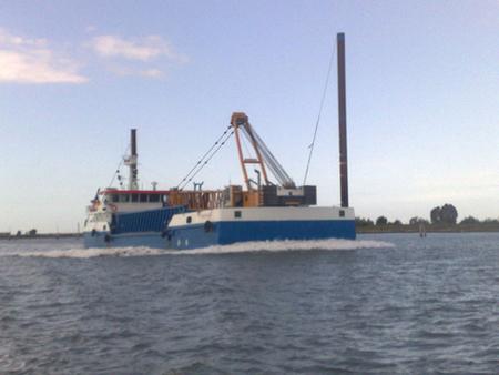 The motorvessel Fernando, sailing