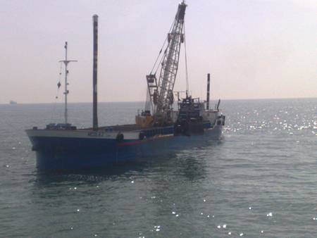 The motorboat Nicola Z